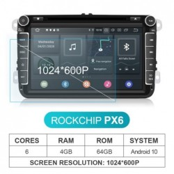 Isudar PX6 2 Din Android 10...