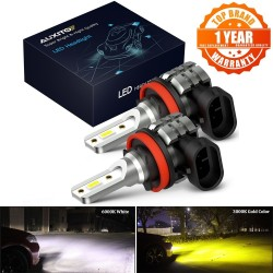 AUXITO 2x H8 H11 LED Canbus...